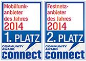 """congstar verteidigt den Titel """"Mobilfunkanbieter des Jahres""""!"""
