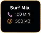 Prepaid Surf Mix